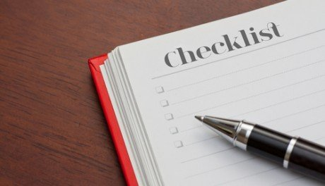 Checklist for a Statement of Work